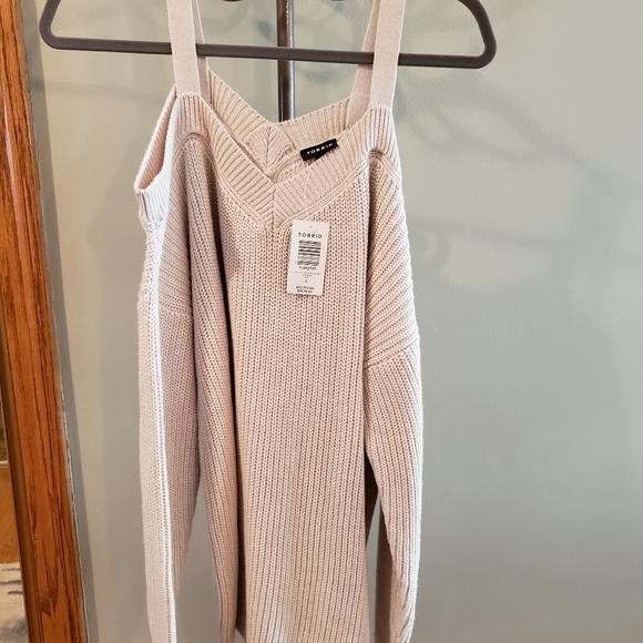 NWT - Torrid Cold Shoulder Sweater